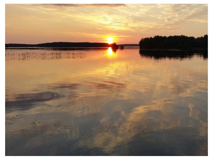 🐹 Озеро Ладмозеро в Республике Карелия