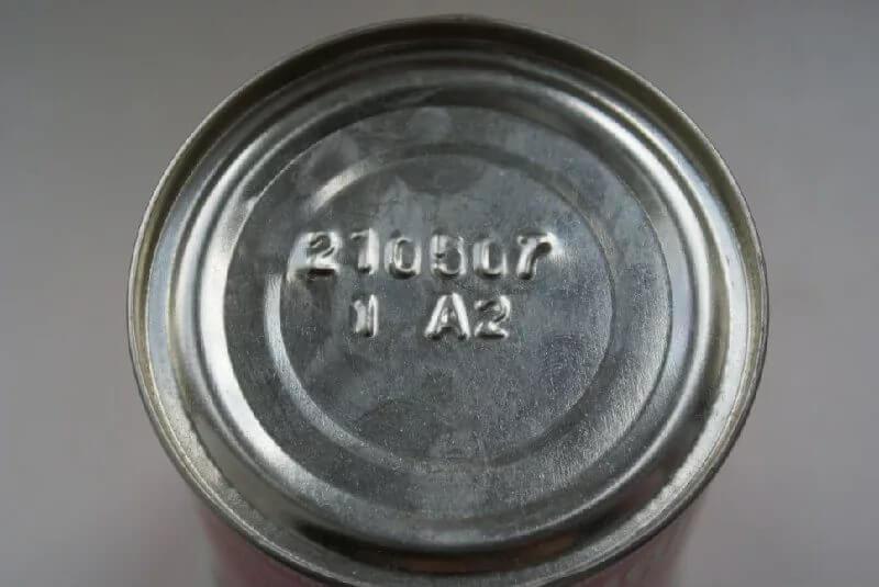 маркировка на тушенке