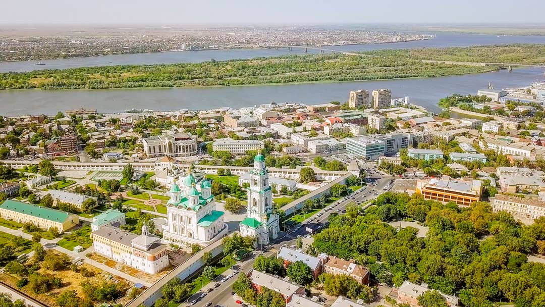 Город Астрахань