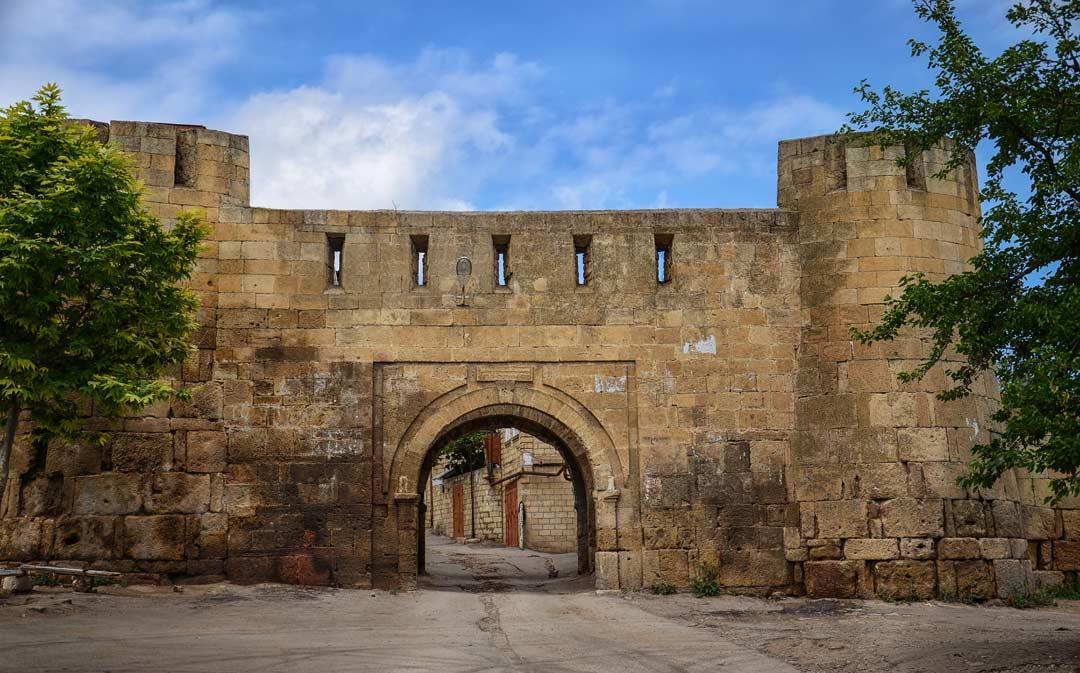Крепость Дербент