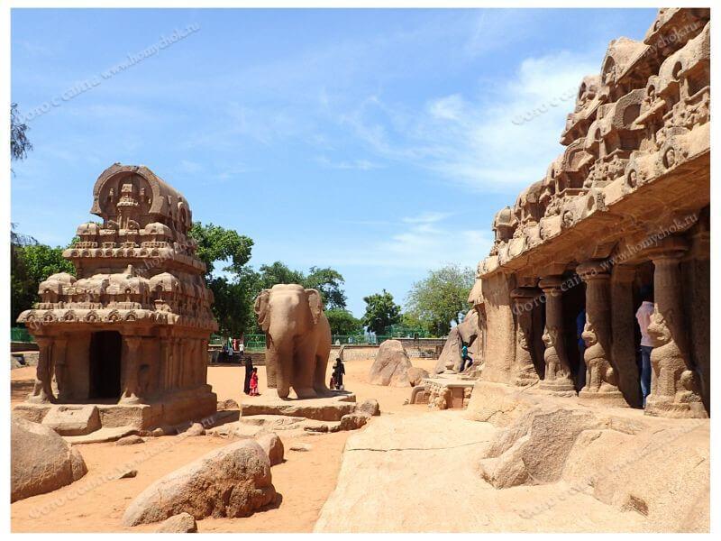 Храм Махабалипурам