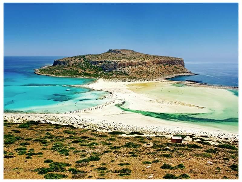 Карта отелей острова Крит