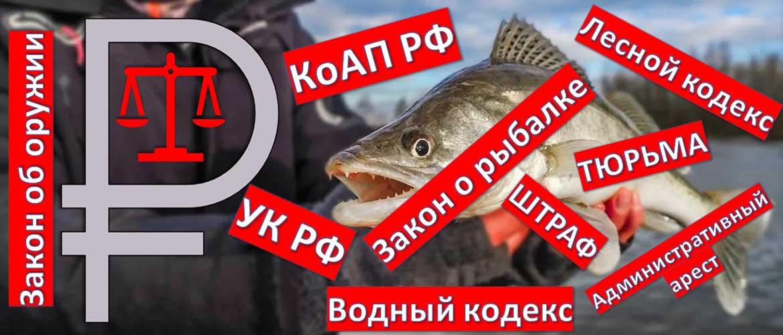 штрафов для рыболовов, охотников и туристов