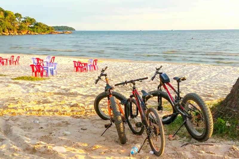 Сиануквиль пляжи