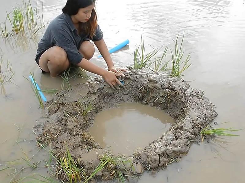 🐹 Как ловят рыбу в Камбодже