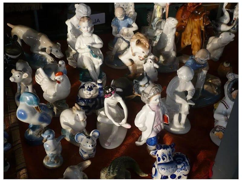 Блошинные рынки Москвы и Подмосковья