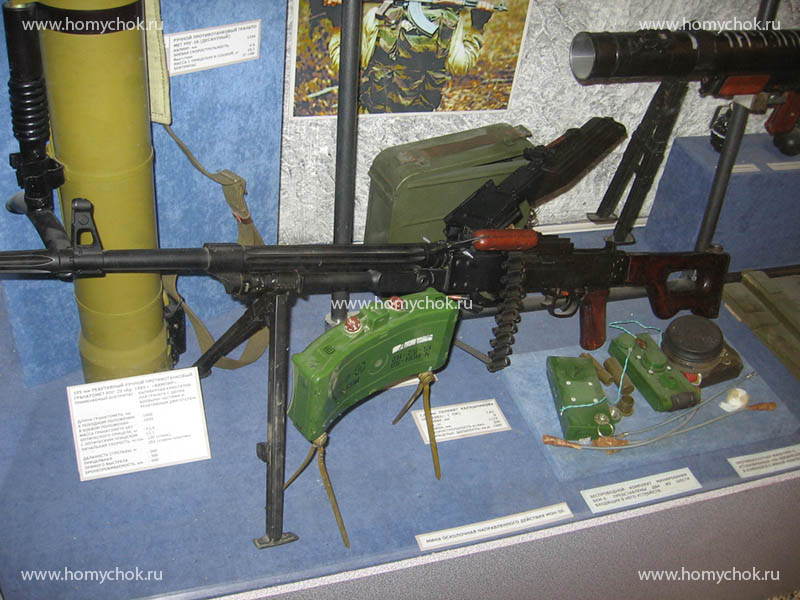 Современное стрелковое и оборонительное оружие