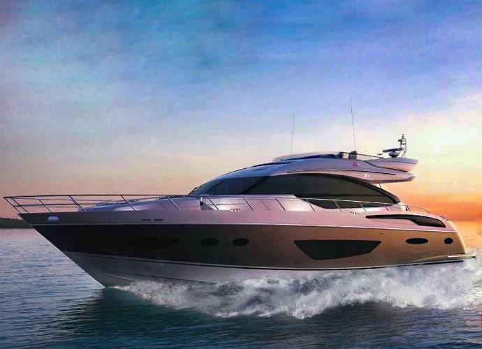 Классы моторных яхт