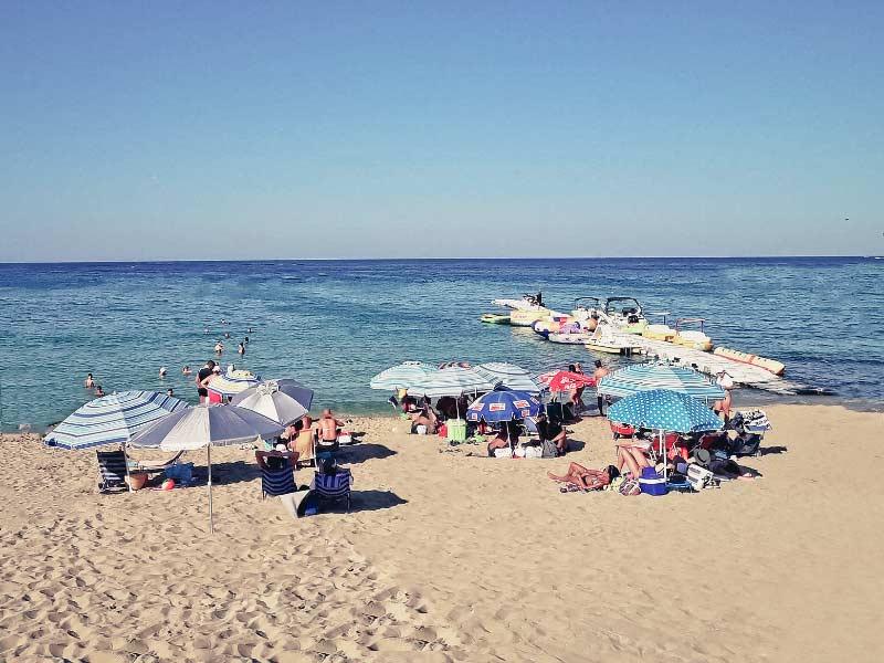 Фото пляжей города Протарас
