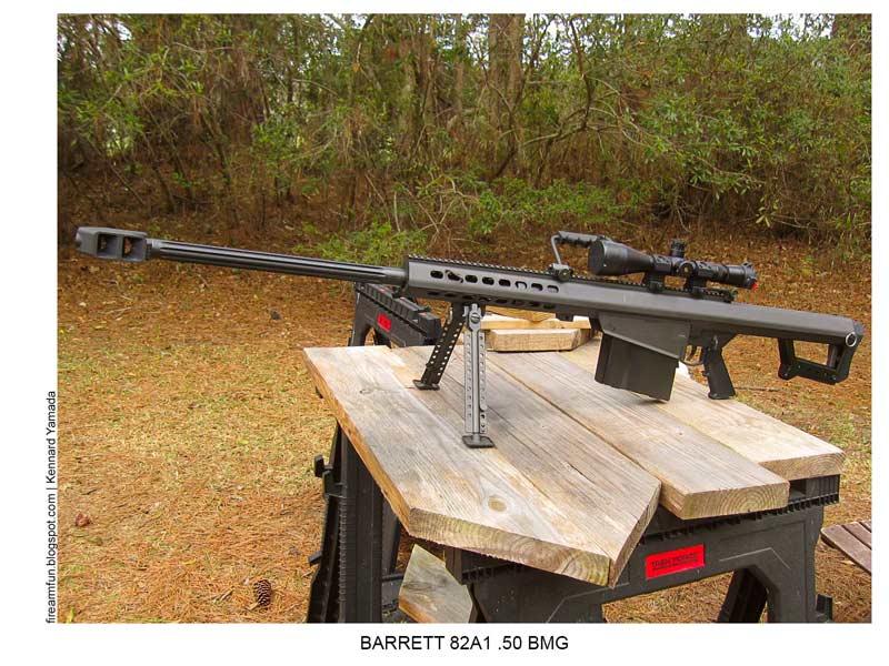 BARRETT 82A1 .50 BMG