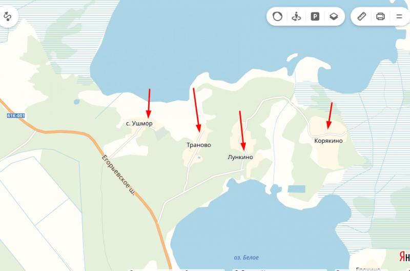 Подъезды к озеру Великое, Рязанская область