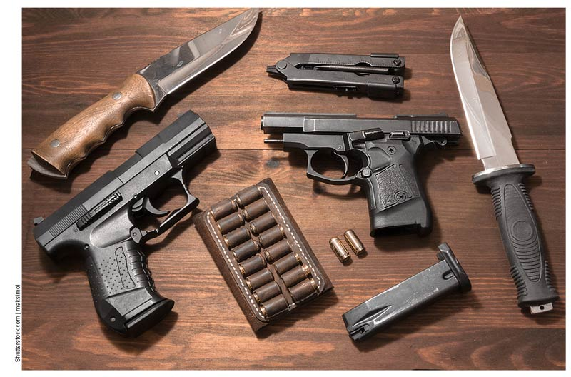 Порядок получения разрешения на хранение и ношение оружия
