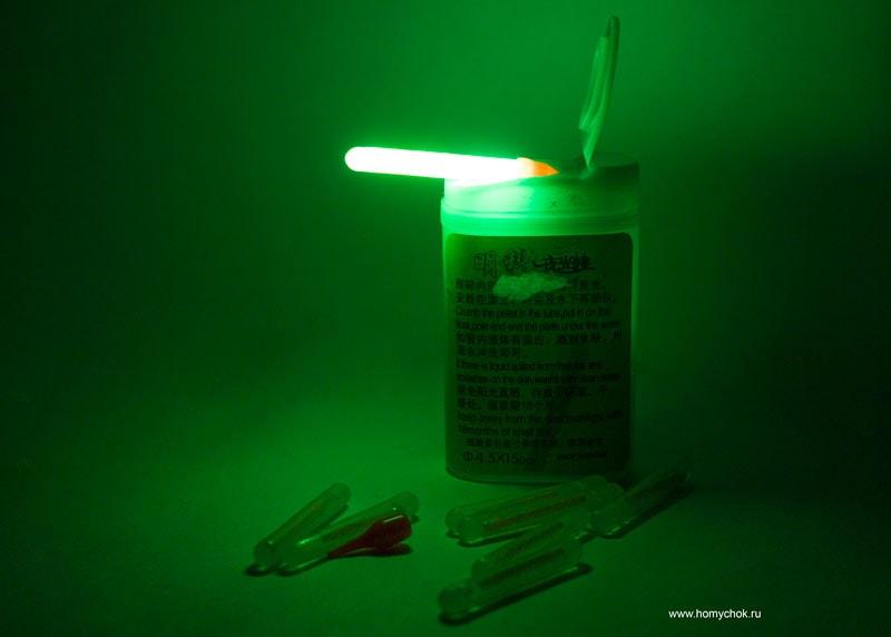 Свет от химического источника света