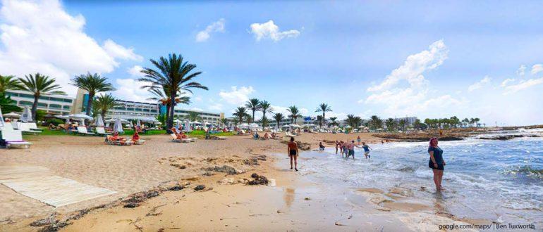 Пляжи-Кипра