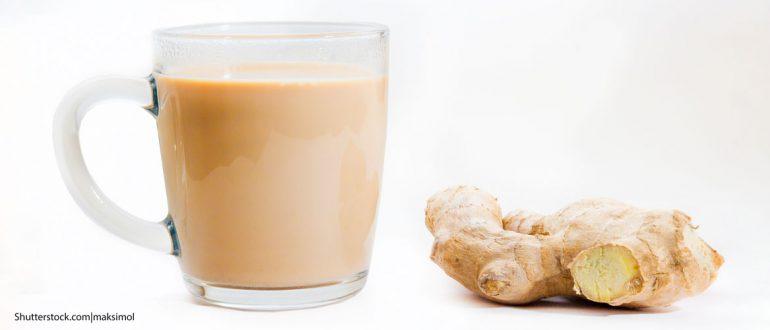 Чай масала, индийский чай с молоком