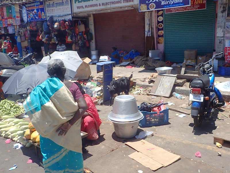 Фрукты и овощи в Индии