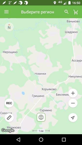 Карты охотника