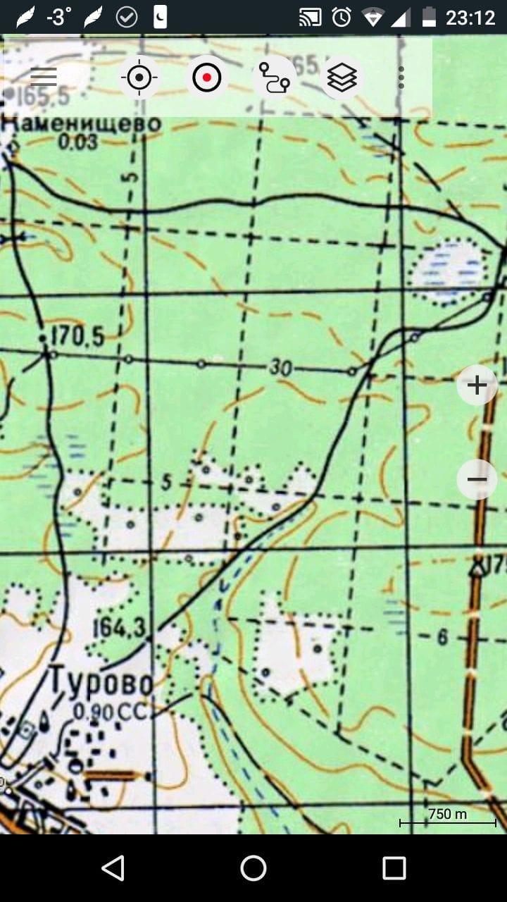 Советские военные карты