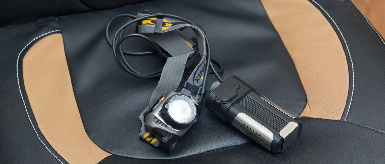Ремонт налобного фонаря Fenix HP30