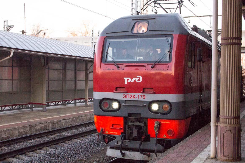 Поезд Бологое-Осташков