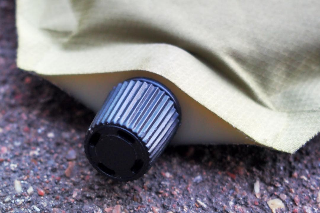 Клапан самонадувающегося коврика
