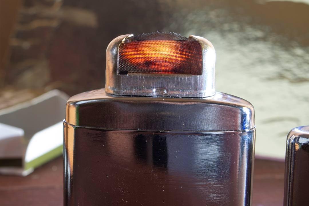 Зажжённый катализатор каталитической грелки