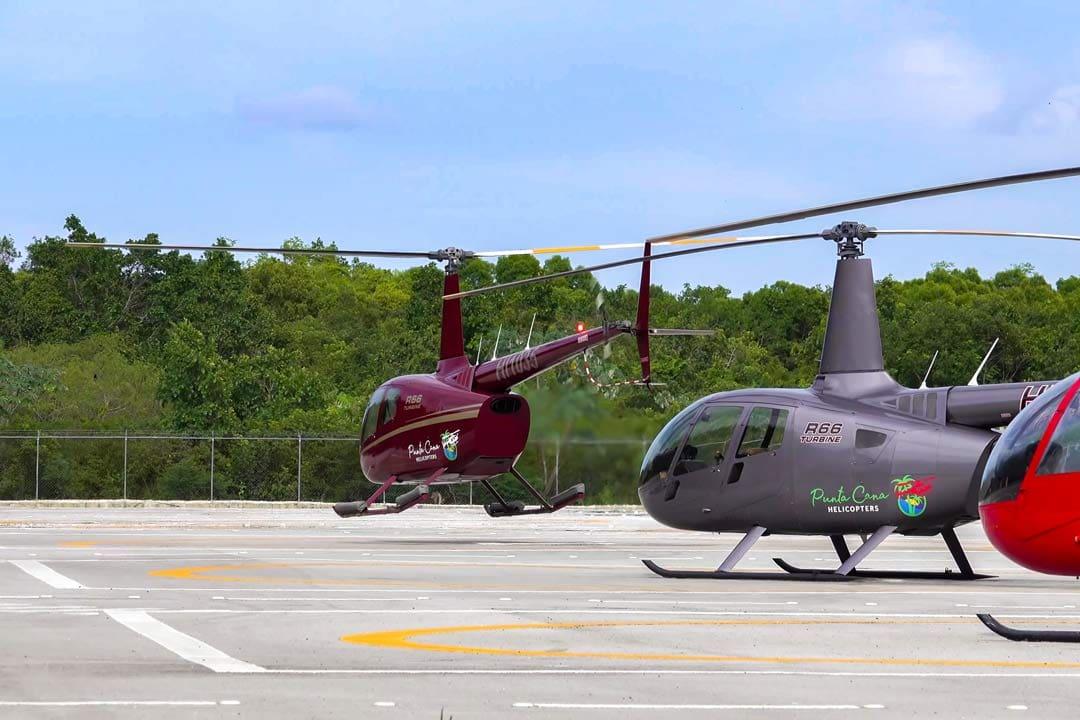 Вертолет на пунта кана