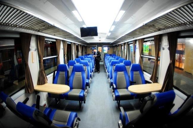 Вагон поезда Хошимин Нячанг