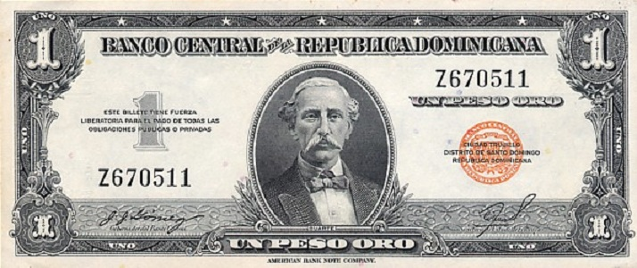 Доминиканское песо 1947 года
