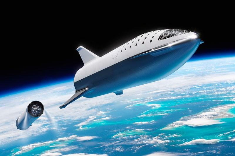 Модуль BFr компании SpaceX