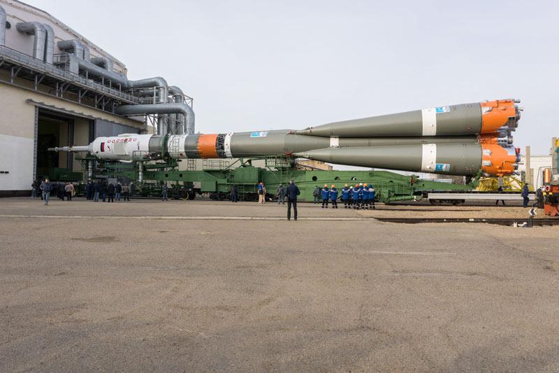 """Космический корабль """"Союз МС-16"""" и его ракета-носитель"""